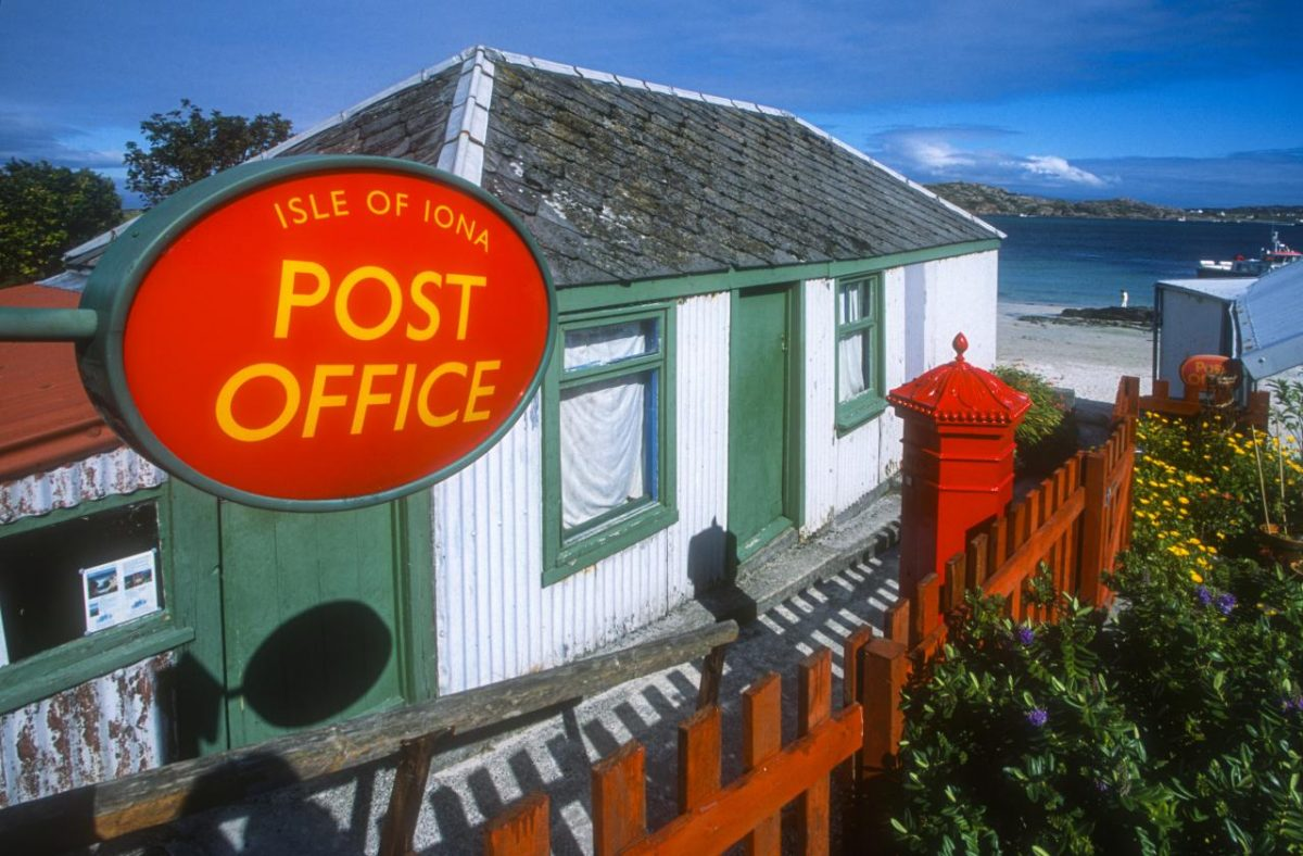 英國郵政服務指南
